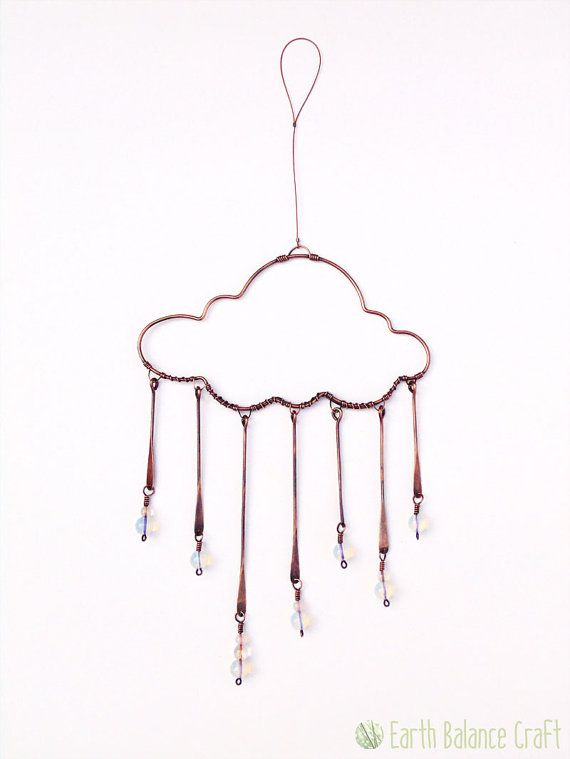 Suncatcher de días lluviosos regalos nube las gotas de