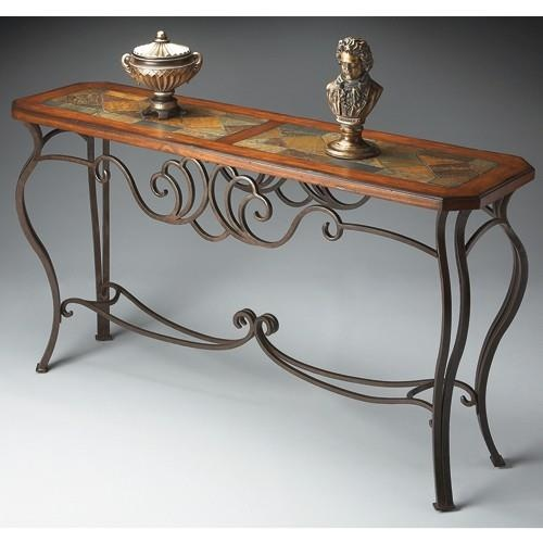 9 best tables images on pinterest console tables for Metal and wood console tables