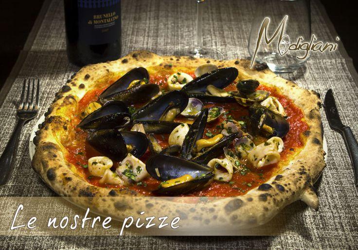 #pizza #cozze #mare #ristòmodigliani