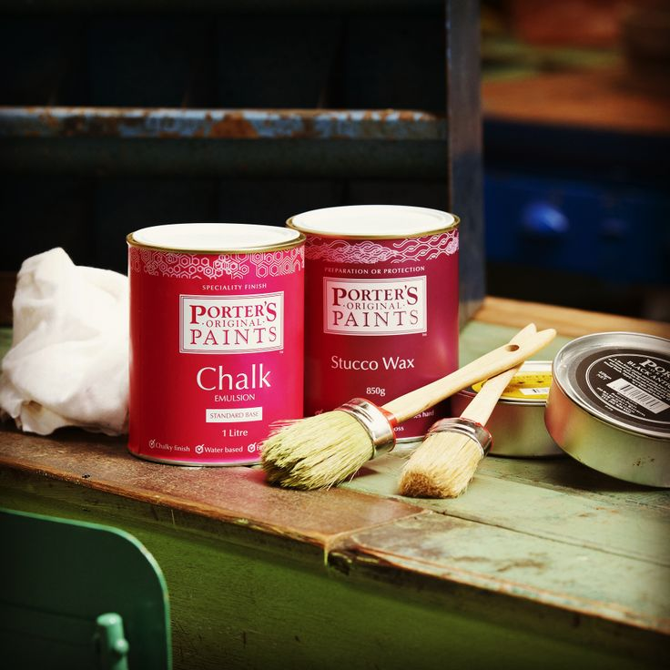 We asked our lovely distributors to find an object and paint it using Porter's Paints Chalk Emulsion, being as wildly creative as they like! We have been impressed with the entries received thus far and would love you to help us decide who the top accolades should go to. Please cast your vote by 'like' ing the images which we will be posting shortly!