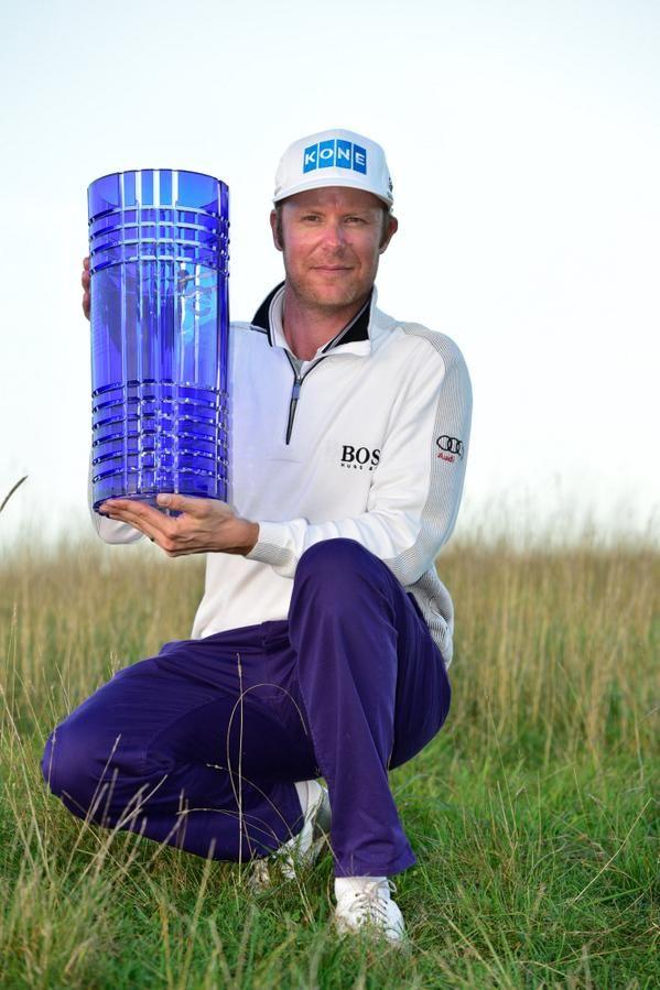 Mikko Ilonen. Volvo World Match Play winner 2014
