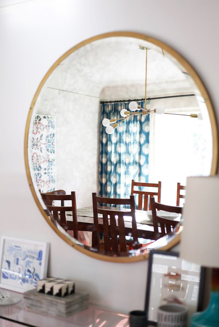 228 best images about round mirrors on pinterest for Circle mirror