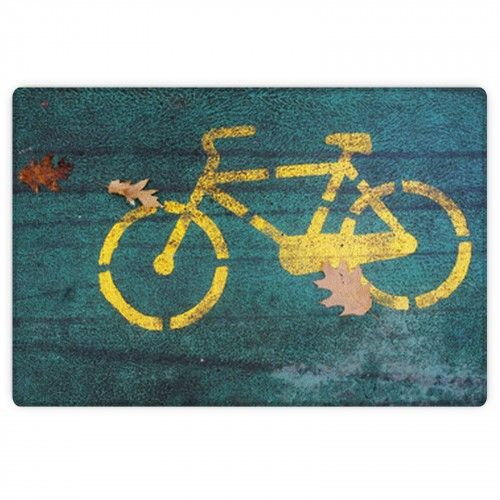 Autumn And A Bicycle Area Rug #bicyclethemedrugs#bicyclearearugs#bicyclecustomrugs#abicyclecustomsizerugs#bicyclefloormats#bicycleroundrugs#bicycletheme#bicycledecorideas#visionbedding#customsize#personalized#unique#cool