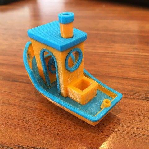 Objeto 3D #3DBenchy - The jolly 3D printing torture-test gratis, ColeRoss3D
