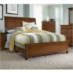 Broyhill - Hayden Light Cherry Sleigh Bed - 4648   SPECIAL PRICE: $674.00