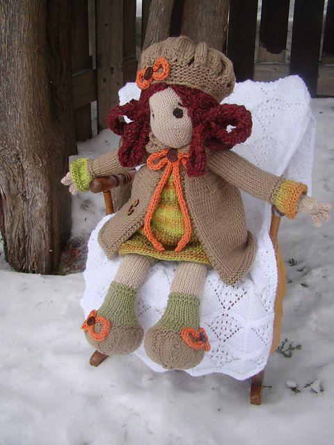 11 best Lottie dolls I have patterns images on Pinterest Knitted dolls, Kni...