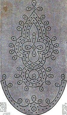 1861.  Der Bazar: Illustrirte Damen-Zeitung.  This would be fabulous for a very elaborate scalloped dress.