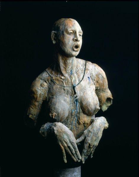 Escultura de Javier Marín en barro. Javier Marín's clay sculpture. Escultura contemporánea. Figura humana. Arte. Contemporary sculpture. Human form. Art. javiermarin.com.mx » BARRO
