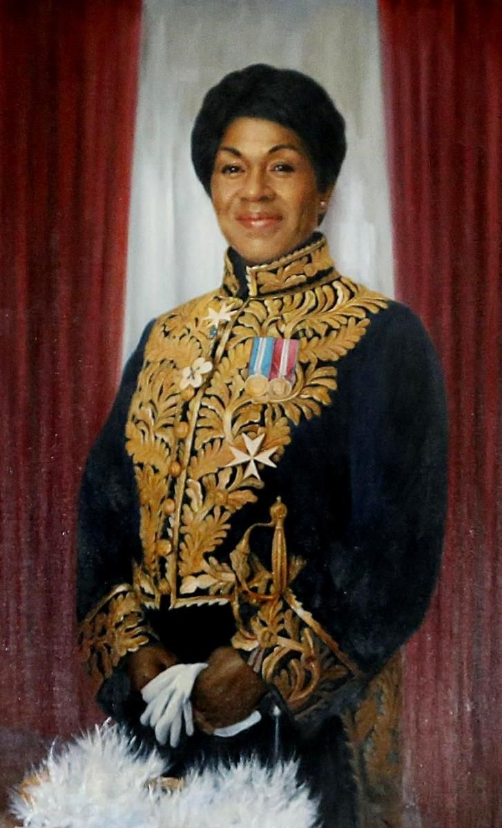 Mayann Francis is the first African Nova Scotian and the second woman to serve as Lieutenant Governor of Nova Scotia.