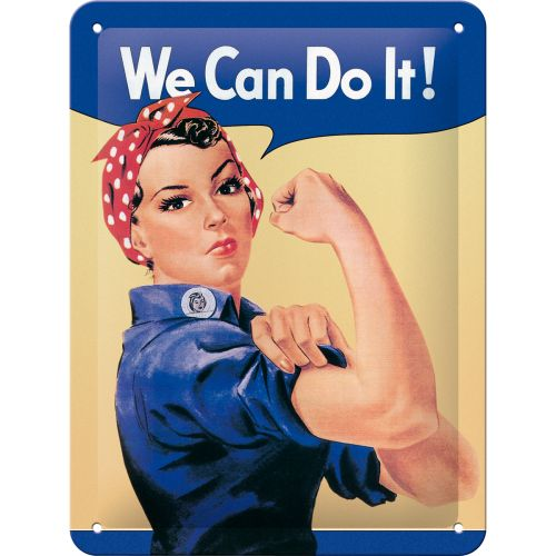 We can do it - http://www.retrozone.pl/pl/p/We-can-do-it/218