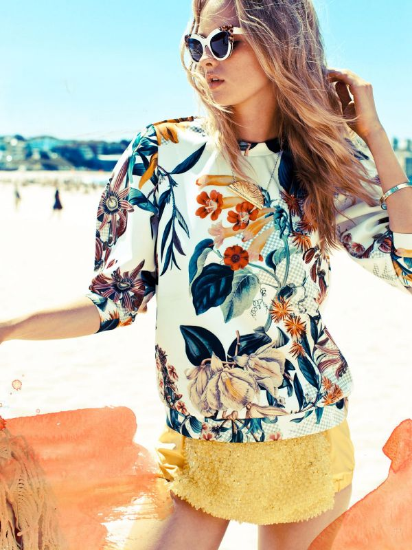 tropical cameo top | photo nick scott