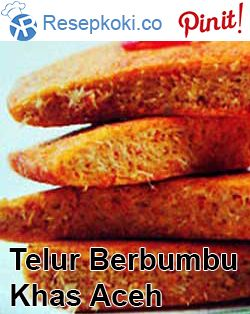 Telur Berbumbu Khas Aceh