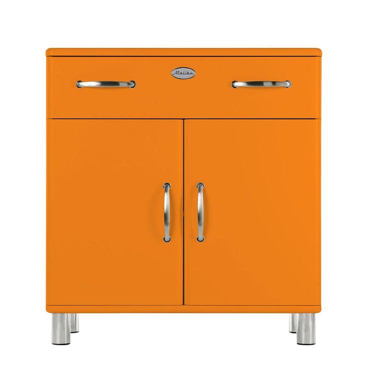 Die besten 25+ Orange kommode Ideen auf Pinterest Orange bemalte - wohnzimmer rot orange