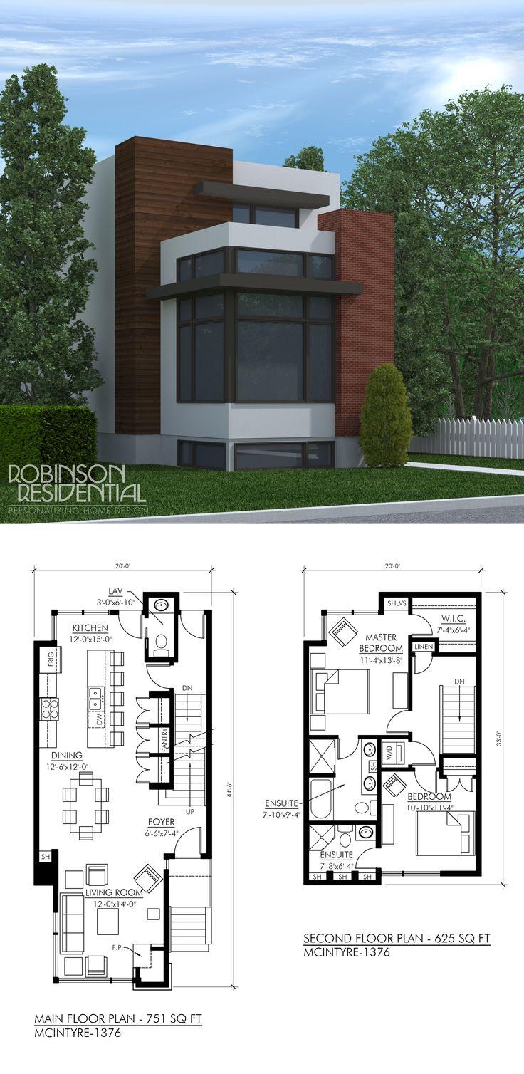 De 25 bedste id er til miniatureboliger p pinterest for Open house plans with lots of windows