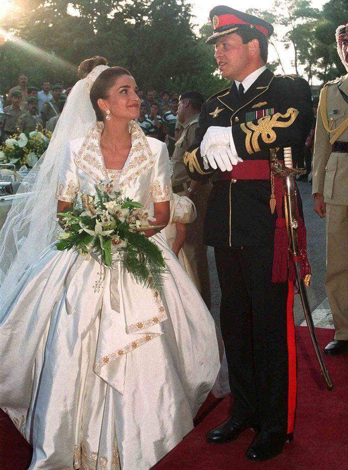 "When you hear the words ""royal wedding"" chances are you think of Prince William and Kate Middleton serving relationship goals while the Queen served hat goals. But many countries other than ye olde England have royal families, which means there's an abundance of queens, Kings, princes and princesses who have tied the knot in true Cinderella style. Thanks to sky's the limit budgets and a general penchant for all things fancy, Princess Brides tend to have gorgeous gowns—and w..."