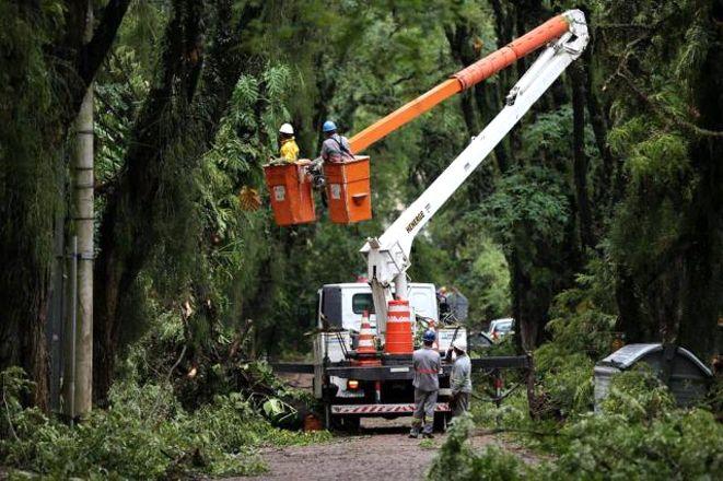 Tempestade devastou Porto Alegre – padaria reclama de negligência com o bairro nobre - Blue Bus