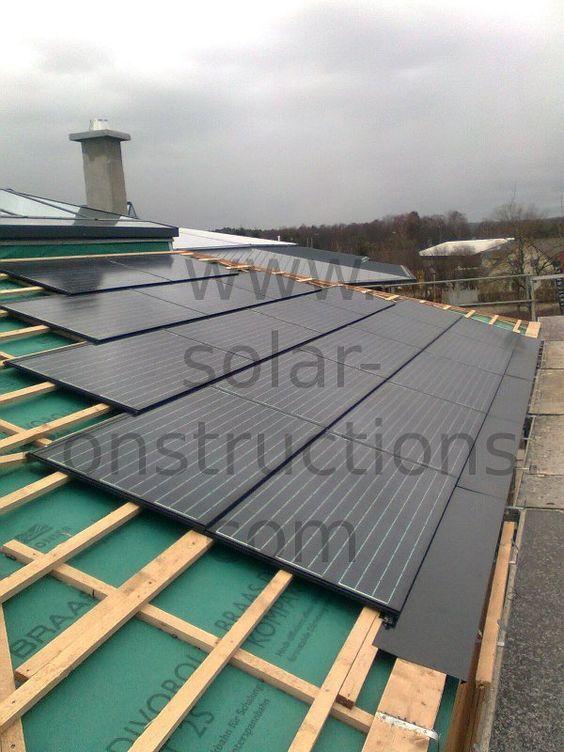 geintegreerde zonnepanelen systeem dakgeïntegreerde zonnepanelen