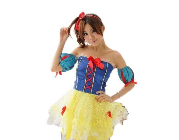 ハロウィン コスチューム 白雪姫 コスプレ 衣装