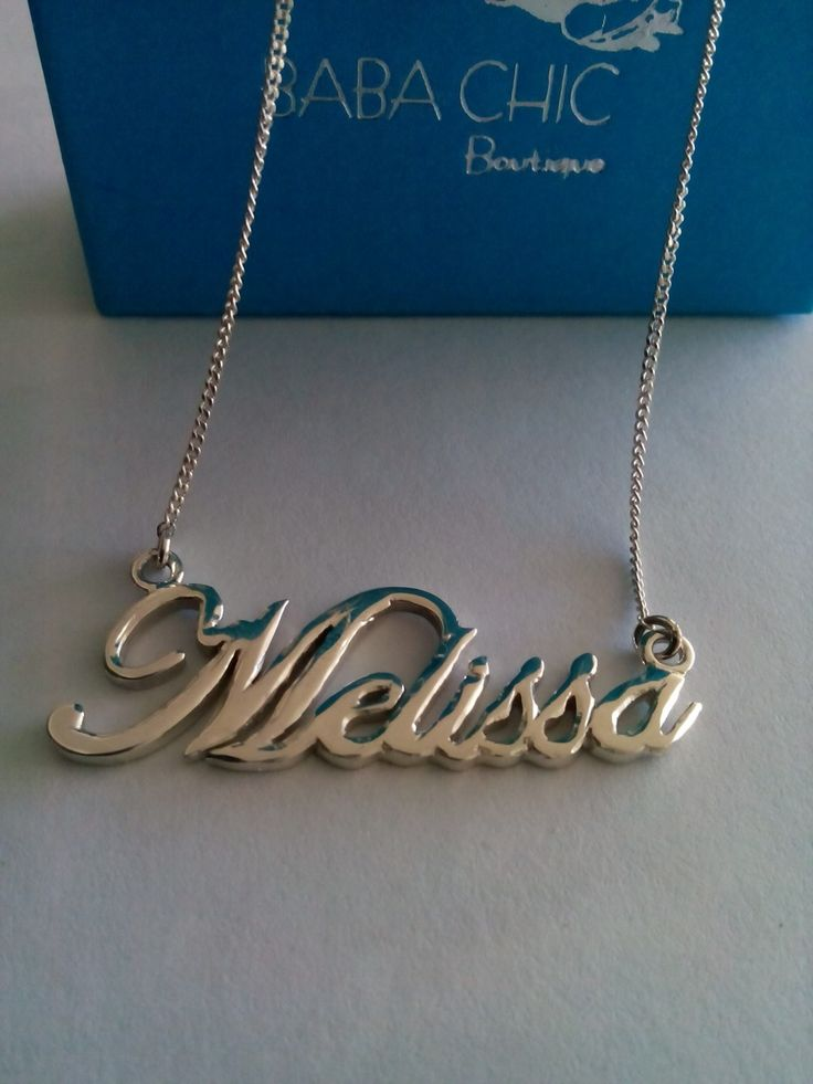 Personalized Name Necklaces