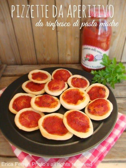 Pizzette da aperitivo con esubero di pasta madre