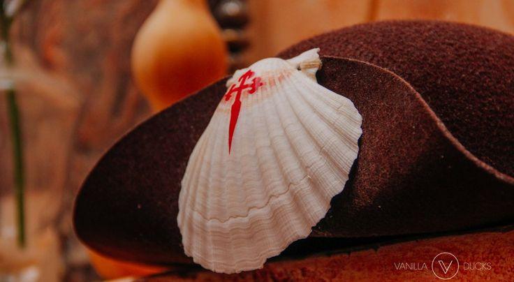 Coquille Saint Jacques et chapeau de pèlerin