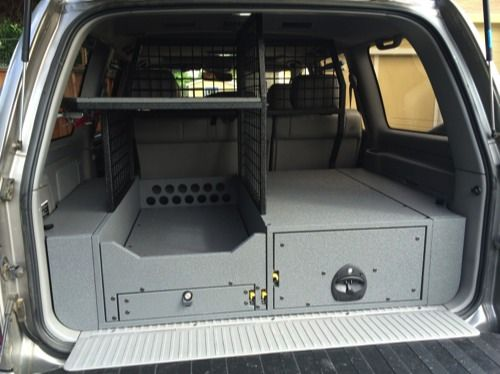 SUV storage system