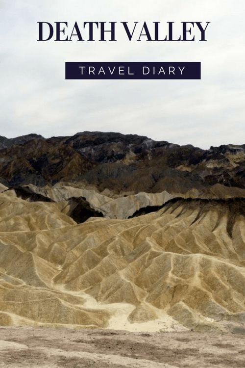 Travel diary: one day in August, we went to the Death Valley