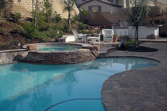 11 best spanish designs images on pinterest haciendas for Pool design ventura