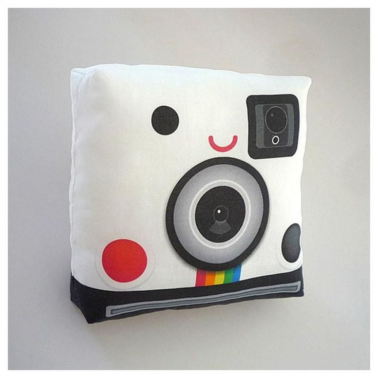 Retro Polaroid Pillow / Mymimi