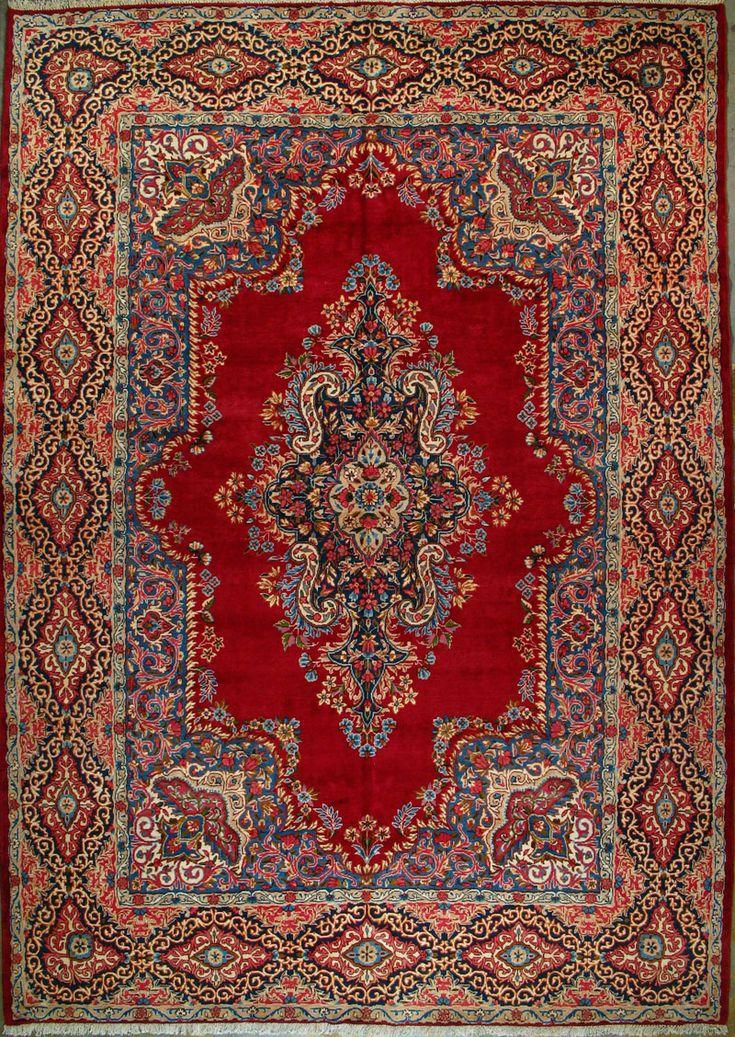 "Yazd Persian Rug - 9' 8"" x 13' 11"""