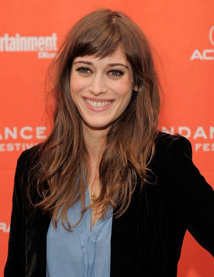 Lizzy Caplan smiled on the red carpet. | Kirsten Dunst Gets Support From Her Man Garrett Hedlund For Sundance Bachelorette Premiere | POPSUGAR Celebrity