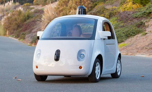 Google had a (not very well-kept) secret when it unveiled its experimental self-driving car: that first example you saw was just a mockup that lacked man