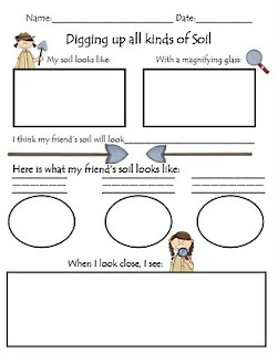 106 best dirt layers images on pinterest earth science for Soil 3rd grade worksheets