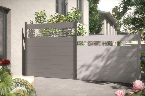 die besten 25 gartenzaun alu ideen auf pinterest alu zaun schwarzer zaun und terrassendach alu. Black Bedroom Furniture Sets. Home Design Ideas