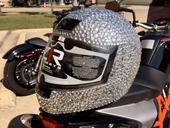 Custom Women's Motorcycle Helmet by HelmetsByJanelle on Etsy