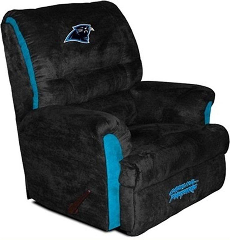 carolina panthers big daddy recliner need for the man cave - Carolina Panthers Merchandise