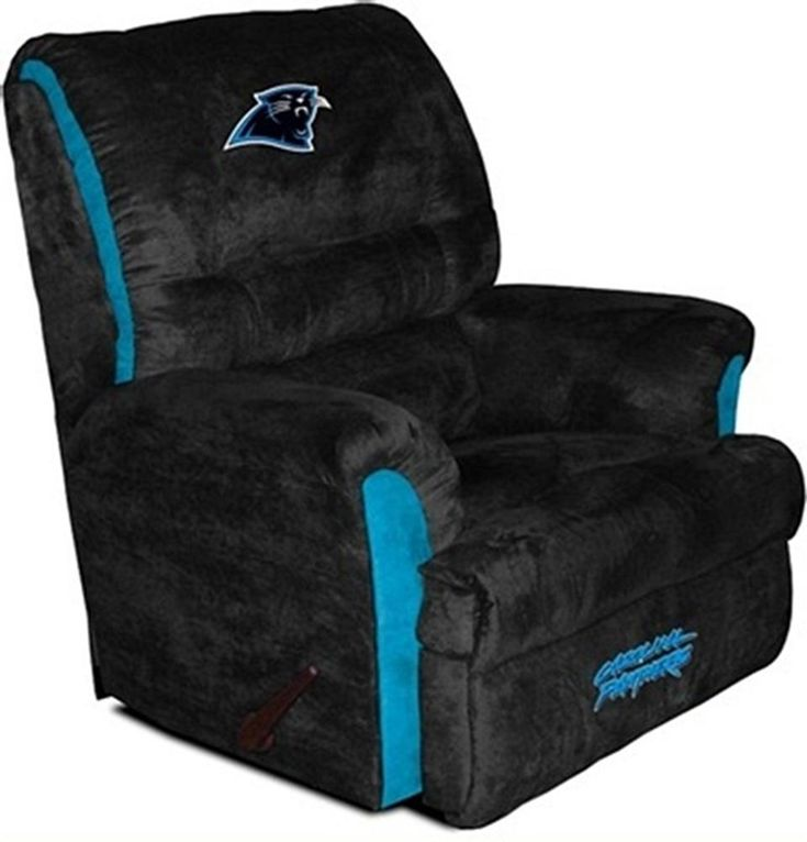 Carolina Panthers Big Daddy Recliner Need for the man cave