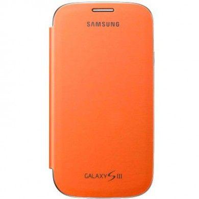 Custodia Originale Flip Cover Case Samsung Galaxy S3 - Arancione
