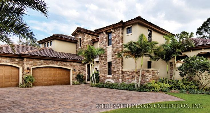 9 best Southwestern House Plans - The Sater Design Collection images