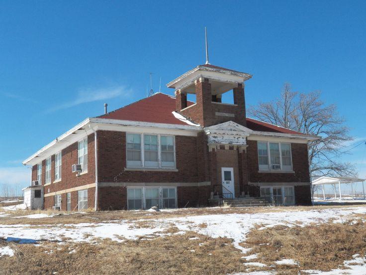 Old school building, Bendena, KS