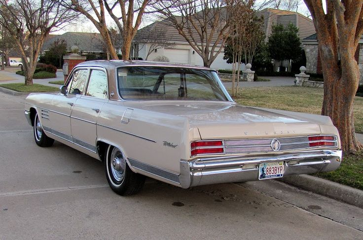 All American Classic Cars 1964 Buick Wildcat 4 Door Sedan Бьюик Pinterest Buick Wildcat