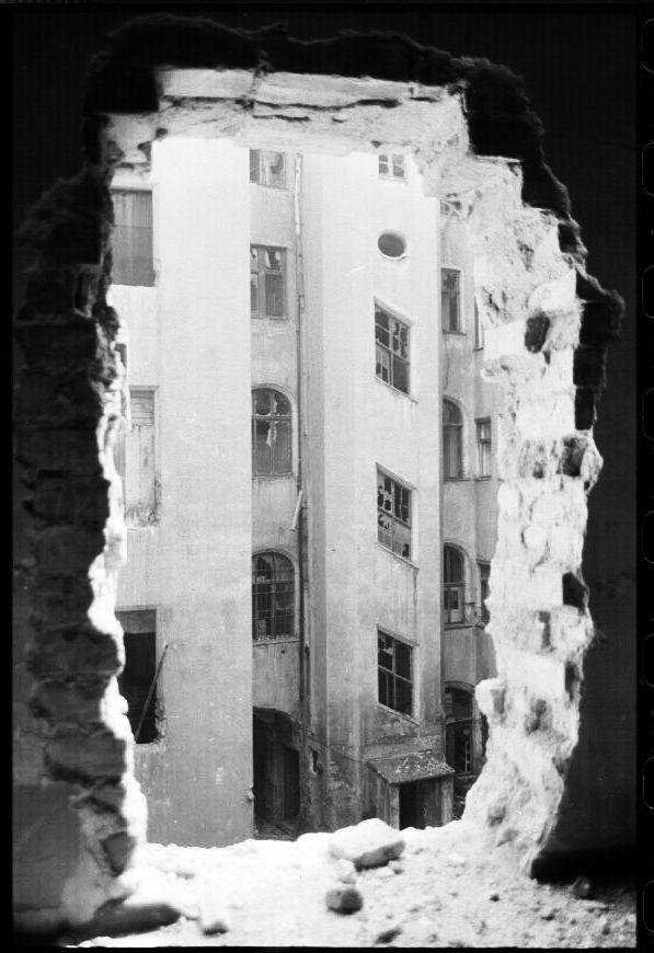 Leipzig, Webers Hof, Barocktürmchen 15.8.1991