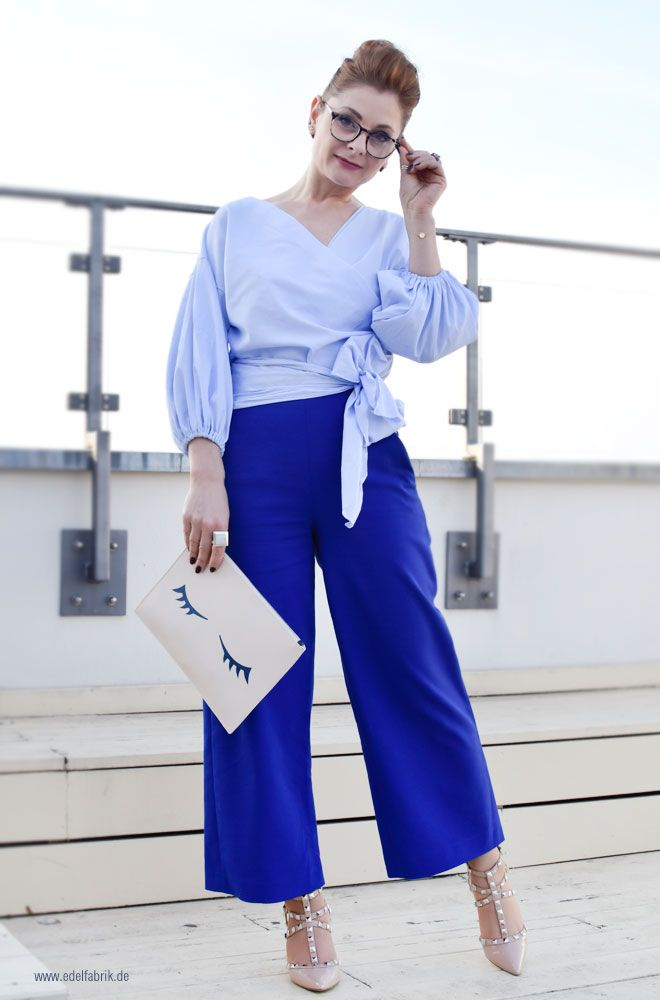Monochrom Blue - 3 Tipps für einen Look Ton in Ton  #toninton #monochrom #blau #blauzublau #studdedheels #highheelsmitnieten#over40style #Ü40mode #Ü40blog #over40blog #fashionover40 #40plusstyle #ü40 #mature #maturewoman #womenwithstyle #ü40blogger #ü40bloggerin #over40fashion #over40andfabulous #over40fashionblogger #40plus #40plusblogger #40plusfashion #blue #marlenehose #bluelook