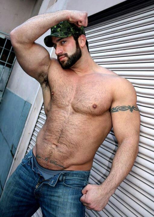 Hairy Muscle Cock 19