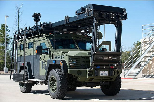 Lenco Industries, Inc., the global leader in the design and manufacture of armored police vehicles, will highlight its proven BearCat® armored tactical vehicle at Eurosatory 2014, June 16-20 in Paris, France located in Hall 5, Booth A448. The BearCat G2 armored SWAT vehicle on display at Eurosatory 2014 belongs to the KLPD Netherlands National Police Services Agency and joins a Lenco BEAR and BearCat already in the KLPD fleet