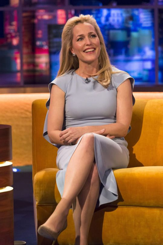 Gillian Anderson on The Jonathan Ross Show, airing Saturday 12th March 2016.
