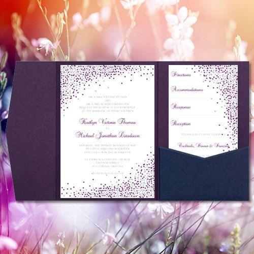 Best 25+ Pocket Wedding Invitations Ideas On Pinterest