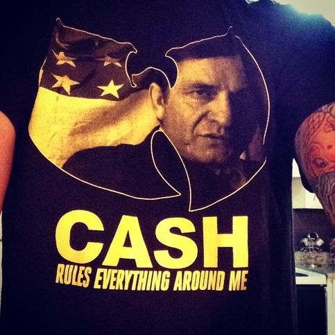 "Johnny Cash x Wu-Tang Clan ""C.R.E.A.M."" shirt sold by Conspire Prints. Shop more products from Conspire Prints on Storenvy, the home of independent small businesses all over the world."
