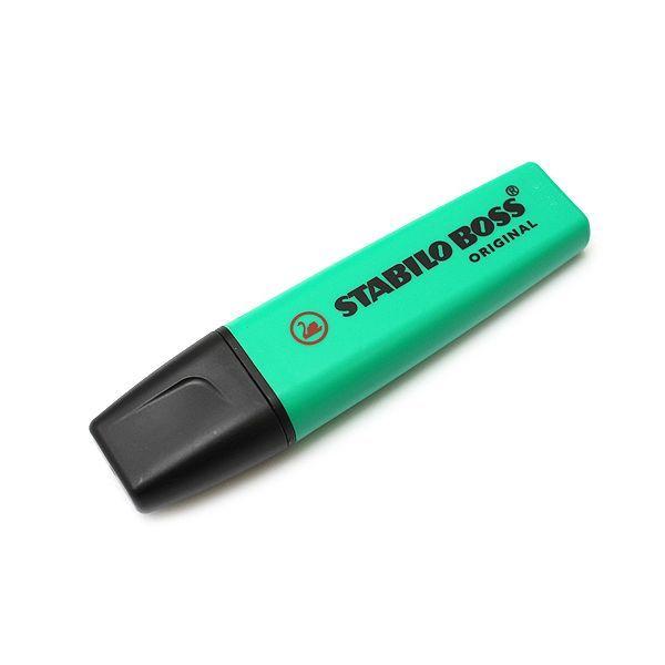 Μαρκαδόρος Υπογράμμισης STABILO BOSS 70/51 2 - 5 mm Τιρκουάζ   Μόνο 0,81€ !!   #eldargr #consumables #desk #marker #STABILO