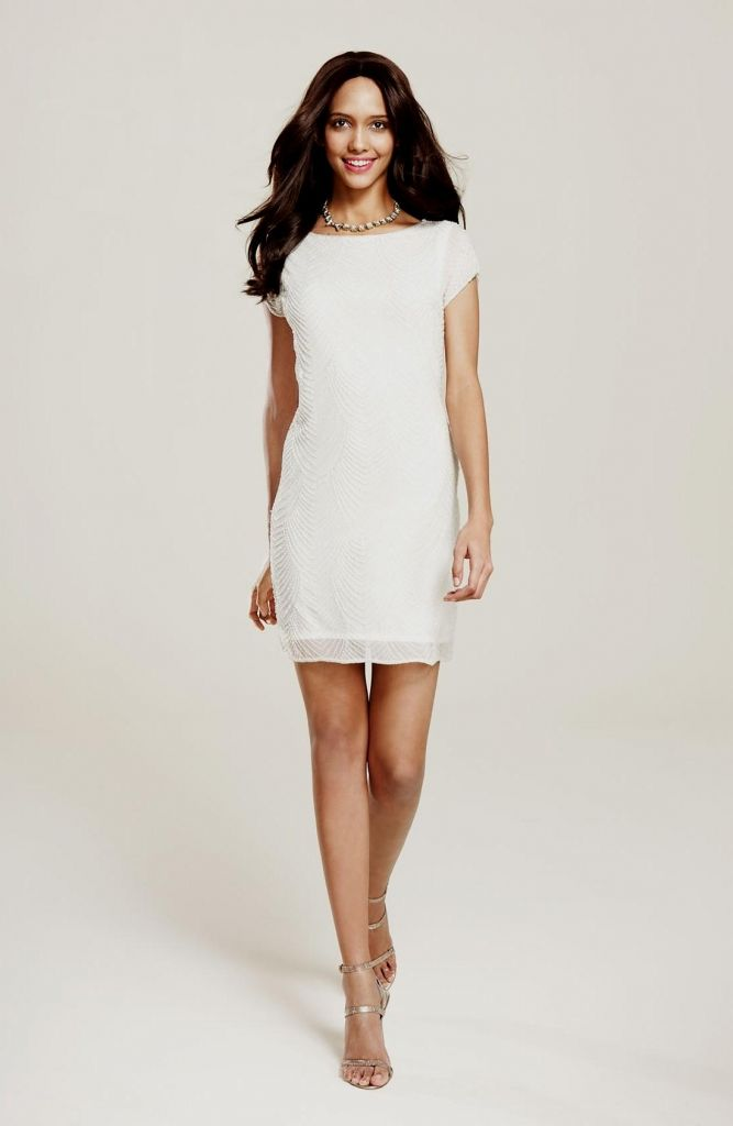 Perfect White Shift Dress Wedding Dresses For Fall Check More At